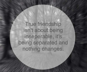 distance, friendship, and inseperable image