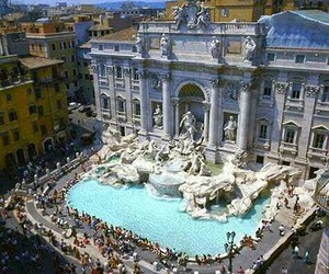 italy, rome, and fountain image