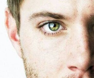 Jensen Ackles, dean winchester, and eyes image
