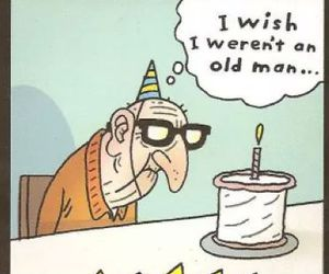 funny, birthday, and wish image