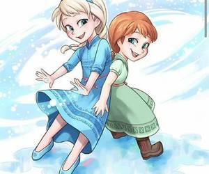 anna, Queen, and frozen image