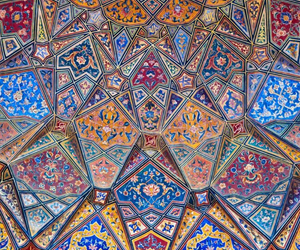 art, colors, and islam image