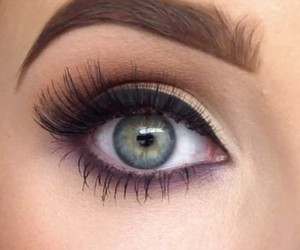 look, makeup, and eyes image