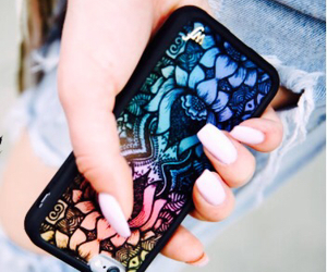lotus flower, wildflower, and phone case image