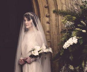 bride, vintage, and wedding image