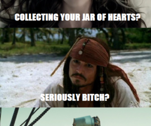 jack sparrow, lol, and jar of hearts image