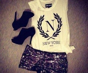 fashion, new york, and outfit image