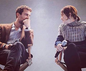 insurgent, theo james, and Shailene Woodley image