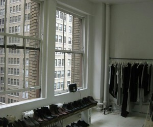 clothes, shoes, and black image