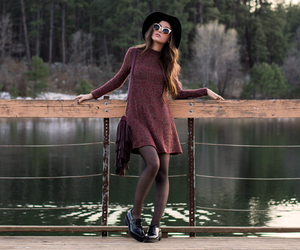 fashion, urban outfitters hat, and arizona girl blog image