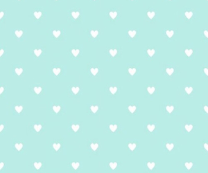 girly, green, and heart image