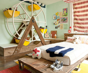 room, bedroom, and kids image