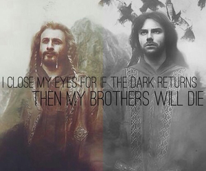 kili, brothers, and dwarves image