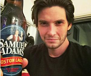 beer, black eyes, and guy image