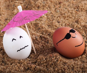 easter, eggs, and funny image