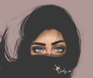 girly_m, hair, and eyes image