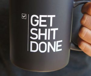 quote, cup, and mug image