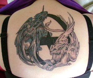 evanescence, tatto, and evfans image