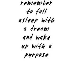 quotes, Dream, and purpose image