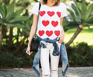 bag, jeans, and pants image