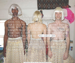 music, Sia, and 1000formsoffear image
