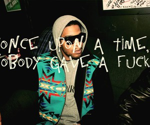 fuck, kid cudi, and once upon a time image