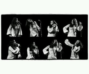 janis joplin and on stage image