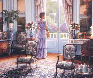 painting, art, and victorian image
