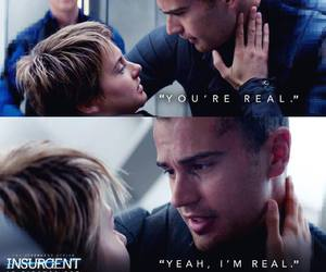 insurgent, tris, and divergent image
