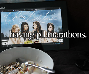 pll, pretty little liars, and Marathon image