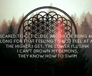 bmth, bring me the horizon, and can you feel my heart image
