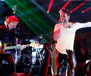 maroon 5, matt flynn, and mickey madden image