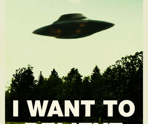 alien, ufo, and x files image