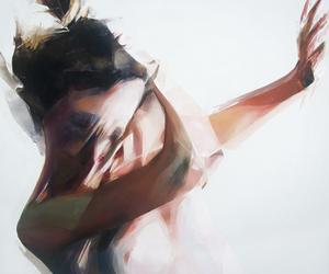 art, girl, and inspiration image