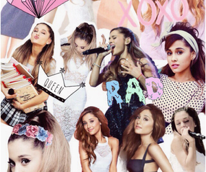 Collage, backgrounds, and ariana image