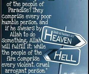 allah, cruel, and heaven image