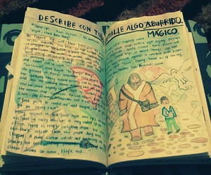 harry potter, wreck this journal, and hagrid image