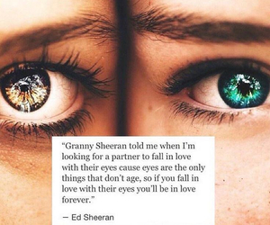 eyes, love, and quotes image