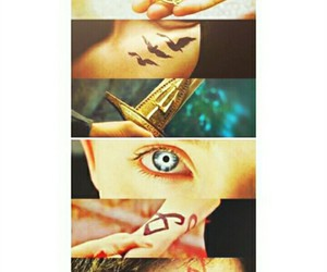 harry potter, the hunger games, and the mortal instruments image