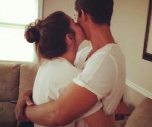 boy, couple, and hug image