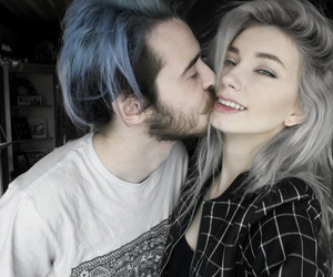 couple, love, and hair image