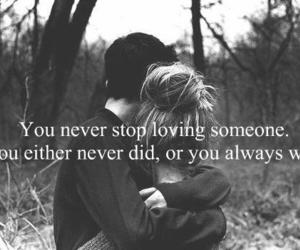 love, quote, and couple image