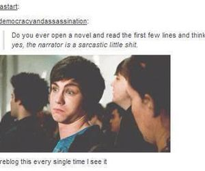percy jackson, book, and funny image