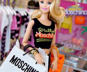 barbie and Moschino image