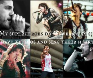 bmth, superheroes, and we came as romans image