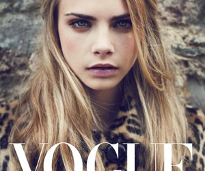 vogue, model, and cara image