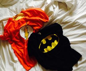 batman, bed, and flash image