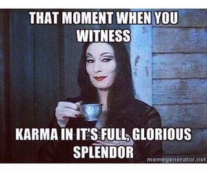 karma and morticia image