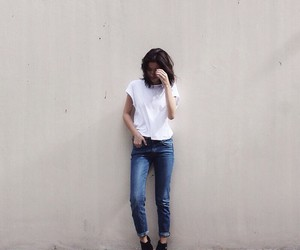 basic, jeans, and outfit image