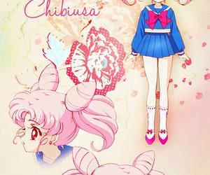 sailor moon and chibiusa image